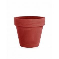 Кашпо TeraPlast Standard One 60 cardinal red, красного цвета  Диаметр — 60 см