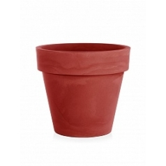 Кашпо TeraPlast Standard One 70 cardinal red, красного цвета  Диаметр — 70 см