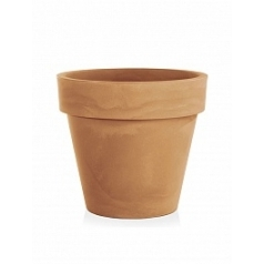 Кашпо TeraPlast Standard One 70 light brown, коричнево-бурого цвета  Диаметр — 70 см