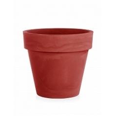 Кашпо TeraPlast Standard One 80 cardinal red, красного цвета  Диаметр — 80 см