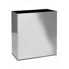 Кашпо Superline Alure trend aluminium brushed lacquered Длина — 66 см  Высота — 75 см