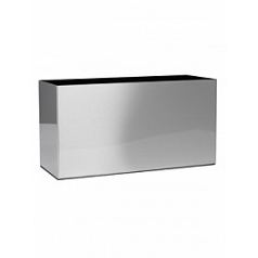 Кашпо Superline Alure trend aluminium brushed lacquered Длина — 90 см  Высота — 50 см