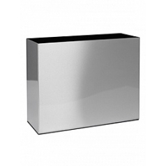 Кашпо Superline Alure trend aluminium brushed lacquered Длина — 90 см  Высота — 75 см