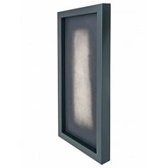 Рама для фитокартины Stiel topper ral 7016 mat Длина — 100 см  Высота — 5 см