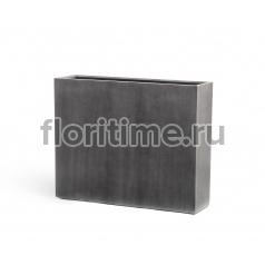 Кашпо Effectory Beton высокий девайдер: темно-серый