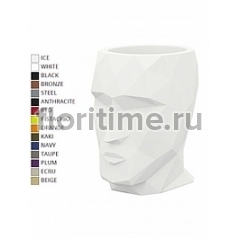 Кашпо Vondom Adan basic color Длина — 17 см Высота — 18 см