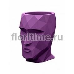 Кашпо Vondom Adan basic purple Длина — 17 см Высота — 18 см