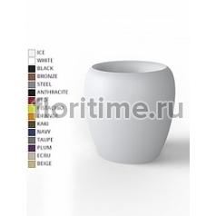 Кашпо Vondom Blow basic color Диаметр — 40 см Высота — 40 см
