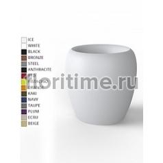 Кашпо Vondom Blow basic color Диаметр — 60 см Высота — 60 см