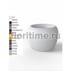 Кашпо Vondom Blow basic color Диаметр — 100 см Высота — 75 см