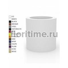Кашпо Vondom Cilindro basic round color Диаметр — 80 см Высота — 80 см
