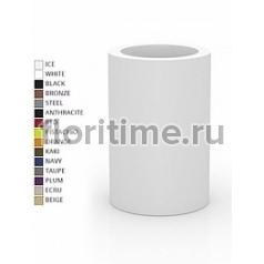 Кашпо Vondom Cilindro basic round high color Диаметр — 60 см Высота — 90 см