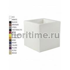 Кашпо Vondom Cubo basic square color Длина — 50 см Высота — 50 см