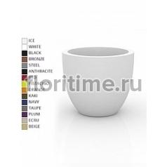 Кашпо Vondom Cuenco simple round color Диаметр — 80 см Высота — 69 см