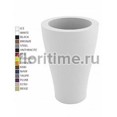 Кашпо Vondom Curvada (sunset) basic round color Диаметр — 65 см Высота — 120 см