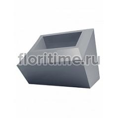 Кашпо Vondom Faz basic antracite Длина — 59 см Высота — 42 см