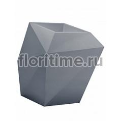 Кашпо Vondom Faz basic antracite Длина — 66 см Высота — 70 см