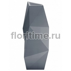 Кашпо Vondom Faz basic antracite Длина — 44 см Высота — 110 см
