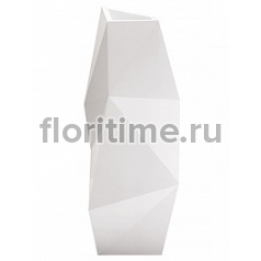 Кашпо Vondom Faz basic white, белого цвета Длина — 44 см Высота — 110 см