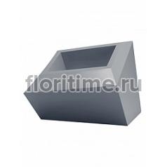 Кашпо Vondom Faz XL размер basic antracite Длина — 82 см Высота — 60 см