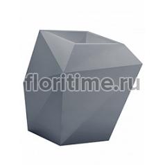 Кашпо Vondom Faz XL размер basic antracite Длина — 92 см Высота — 101 см