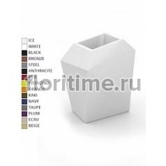 Кашпо Vondom Faz XL размер basic medium color Длина — 92 см Высота — 101 см