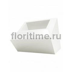 Кашпо Vondom Faz XL размер basic white, белого цвета Длина — 82 см Высота — 60 см