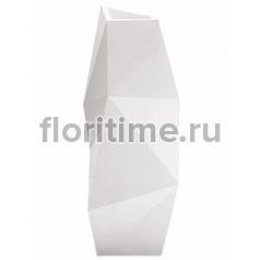 Кашпо Vondom Faz XL размер basic white, белого цвета Длина — 61 см Высота — 159 см