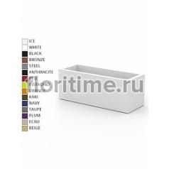 Кашпо Vondom Jardinera (oblongo) basic color Длина — 80 см Высота — 30 см