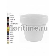 Кашпо Vondom Maceta (giant) simple round color Диаметр — 80 см Высота — 69 см