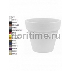Кашпо Vondom Maceta (giant) simple round color Диаметр — 120 см Высота — 104 см