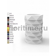 Кашпо Vondom Marquis basic color Диаметр — 40 см Высота — 60 см