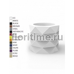 Кашпо Vondom Marquis basic color Диаметр — 60 см Высота — 50 см
