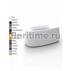 Кашпо Vondom Organic basic rectangle color Длина — 90 см Высота — 39 см