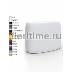 Кашпо Vondom Organic basic rectangle color Длина — 75 см Высота — 57 см