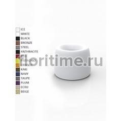 Кашпо Vondom Organic basic round color Диаметр — 42 см Высота — 33 см