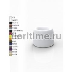 Кашпо Vondom Organic basic round color Диаметр — 51 см Высота — 40 см