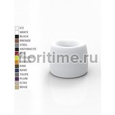 Кашпо Vondom Organic basic round color Диаметр — 61 см Высота — 48 см