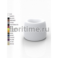 Кашпо Vondom Organic basic round color Диаметр — 73 см Высота — 57 см