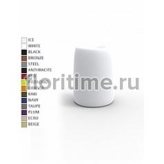 Кашпо Vondom Organic basic round high color Диаметр — 35 см Высота — 48 см