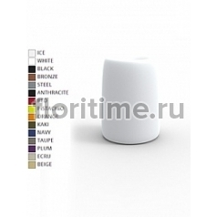 Кашпо Vondom Organic basic round high color Диаметр — 42 см Высота — 57 см