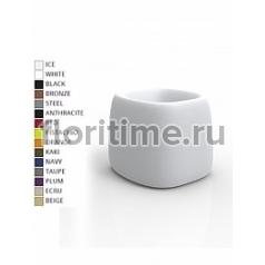 Кашпо Vondom Organic basic square color Длина — 66 см Высота — 57 см