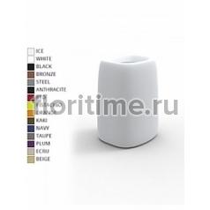 Кашпо Vondom Organic basic square high color Длина — 38 см Высота — 57 см