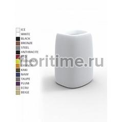 Кашпо Vondom Organic basic square high color Длина — 46 см Высота — 69 см