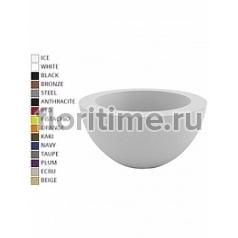 Кашпо Vondom Sfera (cono) basic round color Диаметр — 60 см Высота — 30 см