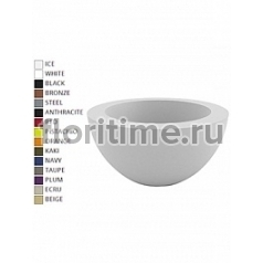 Кашпо Vondom Sfera (cono) basic round color Диаметр — 80 см Высота — 40 см