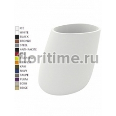 Кашпо Vondom Stone basic oval XL размер color Длина — 140 см Высота — 140 см