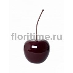Вишня декоративная Cherry glazed red, красного цвета S размер  Диаметр — 23 см Высота — 27 см
