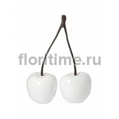 Вишня декоративная Cherry love (2) glossy white, белого цвета XS размер Длина — 345 см  Высота — 455 см