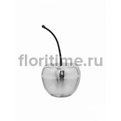 Вишня декоративная Fiberstone platinum под цвет серебра cherry XS размер Длина — 17 см  Высота — 315 см